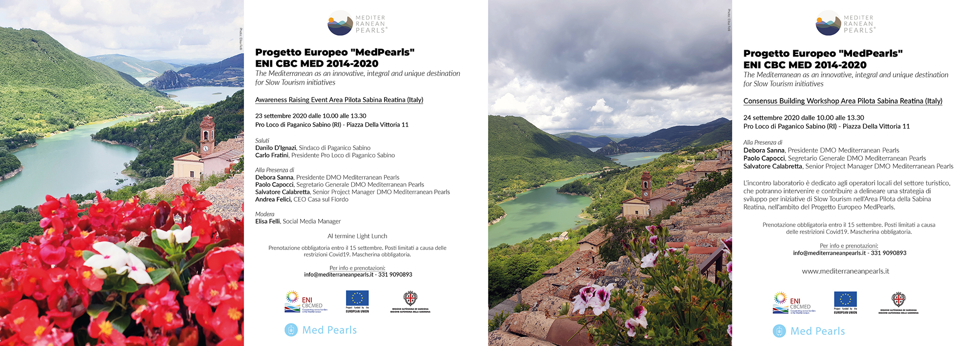 Awareness Raising Event & Consensus Building Workshop in Paganico Sabino Project MedPearls